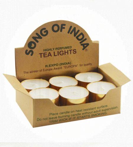 12 Tea Light Unscented Candles