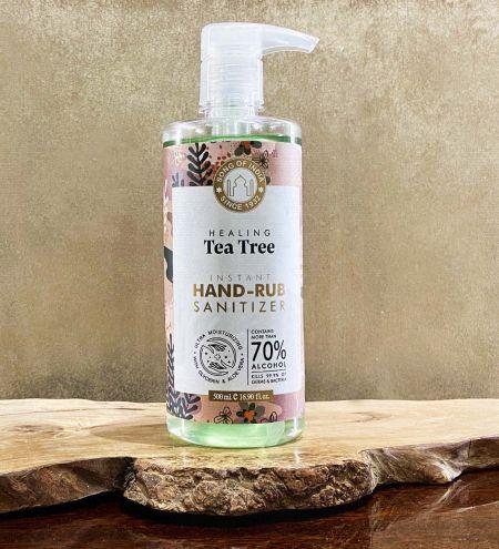Tea Tree Hand Sanitizer Alcohol Based, 500 ml