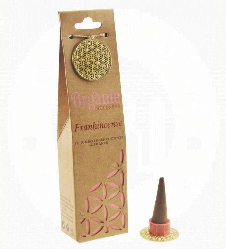 Frankincense Organic Incense Cones