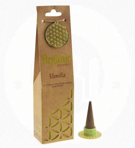 Vanilla Organic Incense Cones