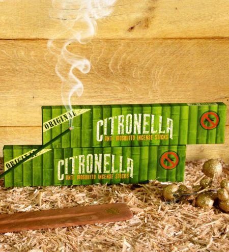 Citronella - Anti Mosquito Incense Sticks Combo (Set of 2)