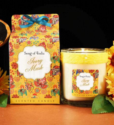 Ivory Musk Soy Wax Indulgent Candle