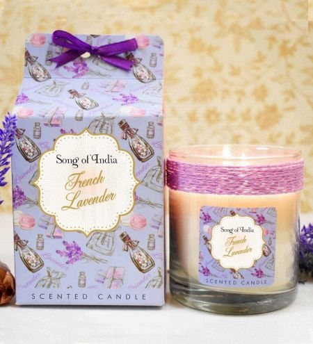 French Lavender Soy Wax Indulgent Candle