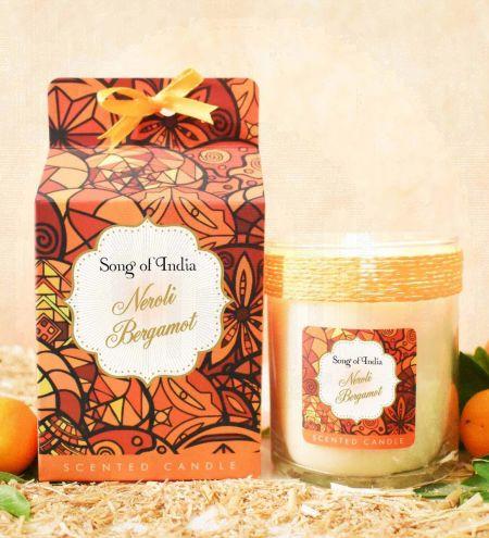 Neroli Bergamot Soy Wax Indulgent Candle