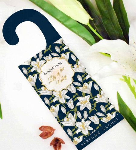 Lily of the Valley Potpourri Perfume Hanging Sachet