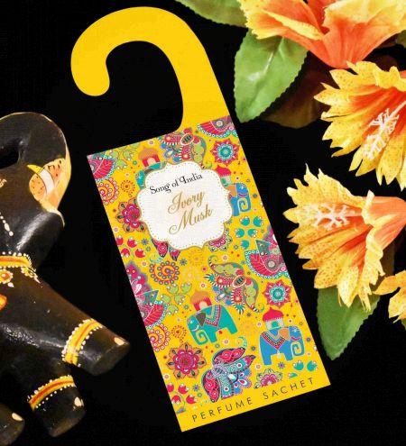 Ivory Musk Potpourri Perfume Hanging Sachet