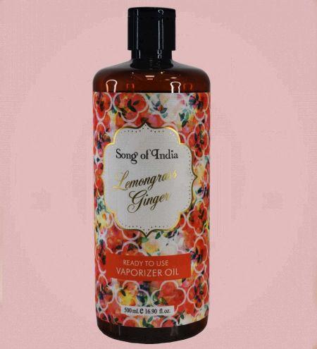Lemongrass Ginger Little Pleasures Vaporizer Oil Ready-to-Use 500ml.