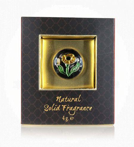 Royal Oud Solid Perfume Brass Jar