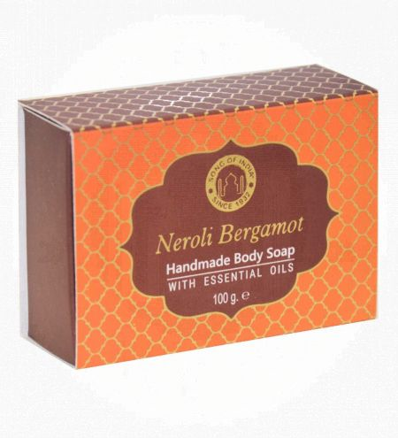 Neroli Bergamot Handmade Glycerin Soap