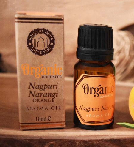 Nagpuri Narangi - Orange Organic Ambience Aroma Oil