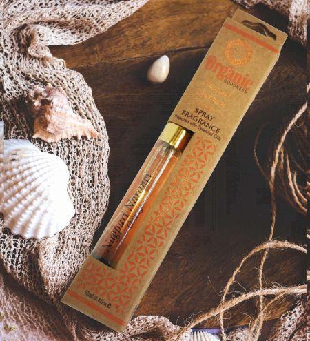 12ml. Nagpuri Narangi - Orange Organic Goodness Fragrance Spray with Gold Pump