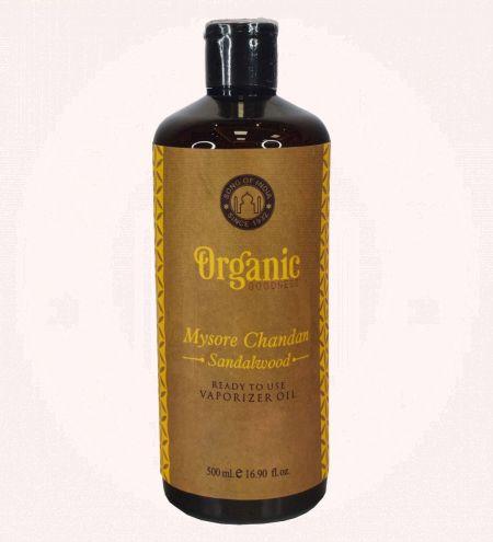 Mysore Chandan - Sandalwood Organic Goodness Vaporizer Oil Ready-to-Use 500 ml.
