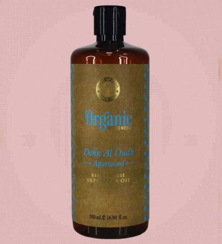 Dehn Al Oudh - Agarwood Organic Goodness Vaporizer Oil Ready-to-Use 500ml.