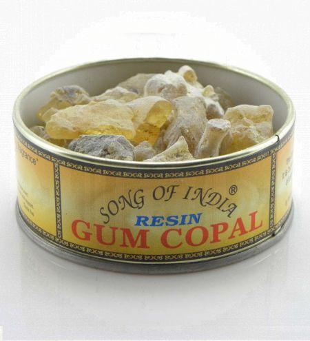 Gum Copal Resin in Tin Jar