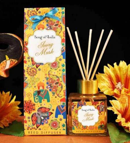 Ivory Musk Ambience Reed Diffuser Set