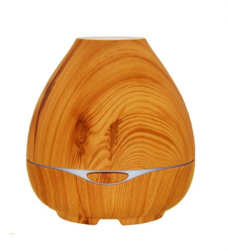 Light Wood Coconut Shaped Ultrasonic Diffuser