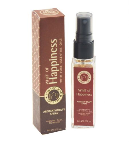 Whiff of Happiness Aromatherapy Spray in Square Bottle