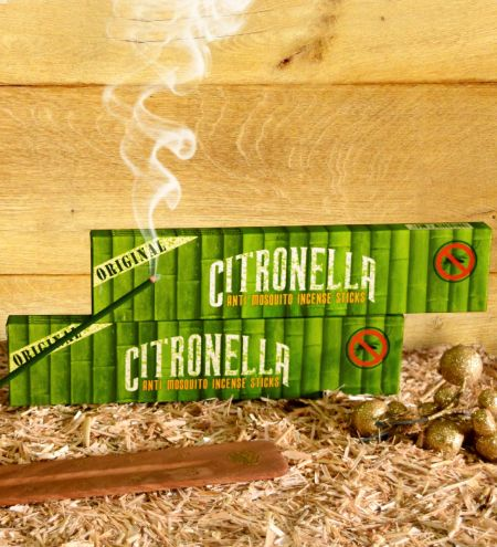 Citronella - Anti Mosquito Incense Sticks Combo (Set of 2)