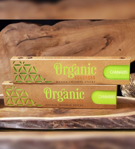Cannabis Organic Masala Incense Sticks Combo (Set of 2)