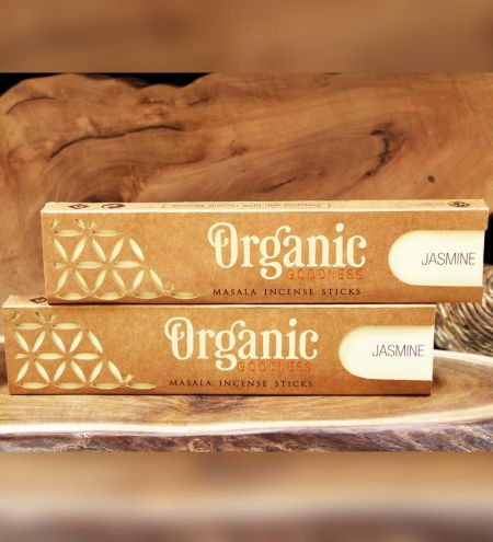 Jasmine Organic Masala Incense Sticks Combo (Set of 2)