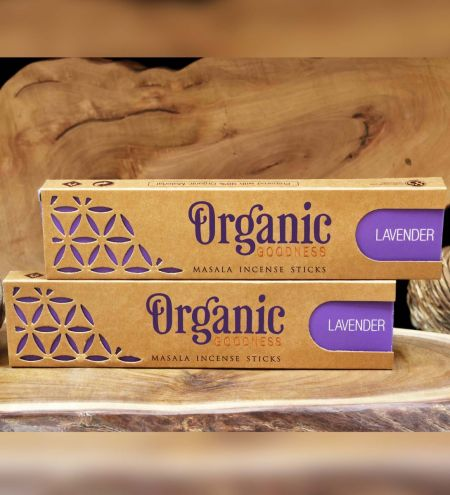 Lavender Organic Masala Incense Sticks Combo (Set of 2)