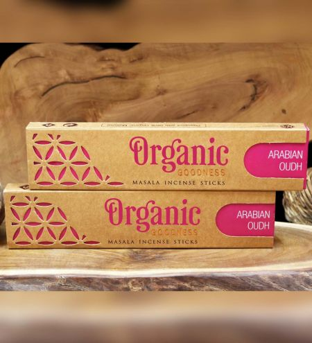 Arabian Oudh Organic Masala Incense Sticks Combo (Set of 2)