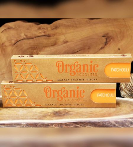 Patchouli Organic Masala Incense Sticks Combo (Set of 2)