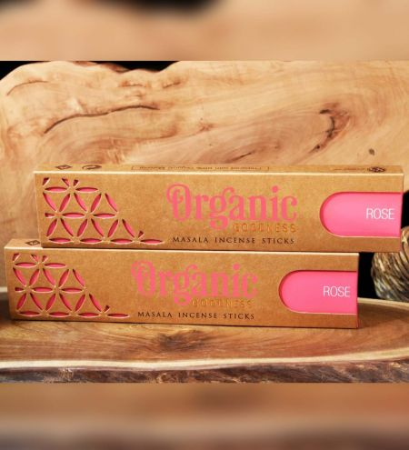 Rose Organic Masala Incense Sticks Combo (Set of 2)
