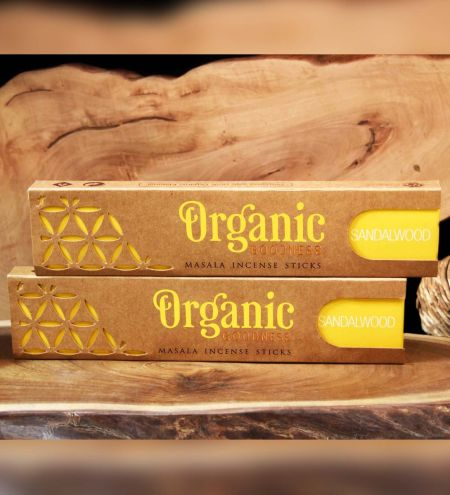Sandalwood Organic Masala Incense Sticks Combo (Set of 2)