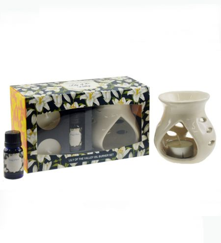 Lily of the Valley Aroma Burner Set