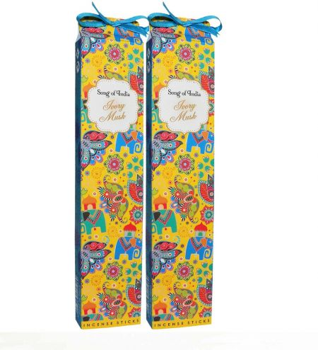Ivory Musk Incense Sticks Combo (Set of 2)