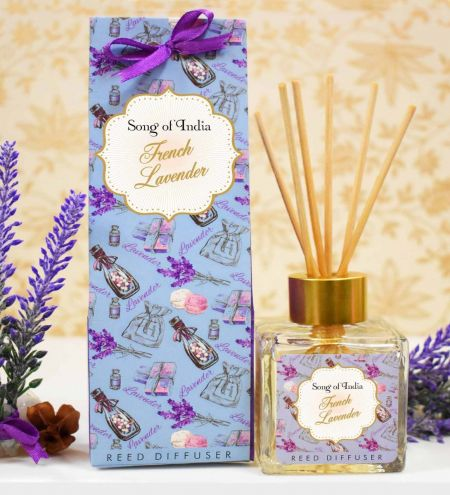 French Lavender Ambience Reed Diffuser Set