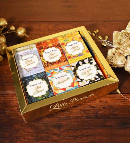 Little Pleasures Handmade Glycerin Soap Gift Box