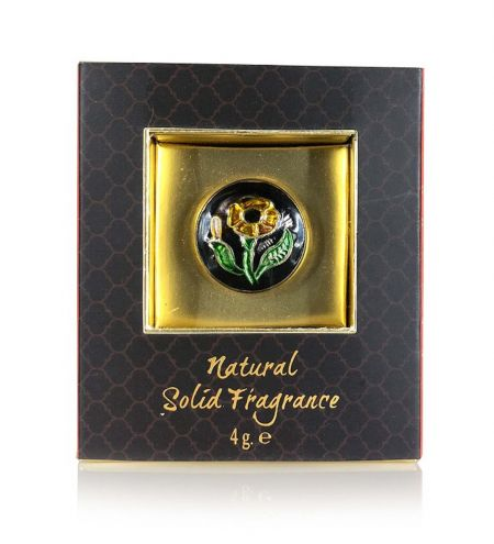 Royal Oud Solid Perfume Brass Jar