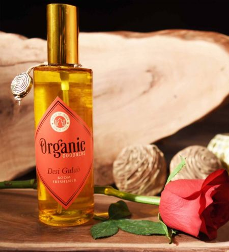 Desi Gulab - Rose Organic Room Spray with Essential Oil