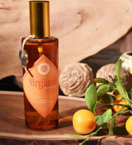 Nagpuri Narangi - Orange Organic Room Spray with Essential Oil