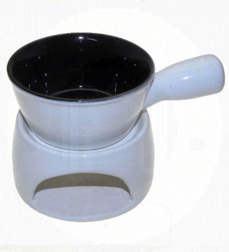 Fondue Saucer Pot Ceramic Burner 4