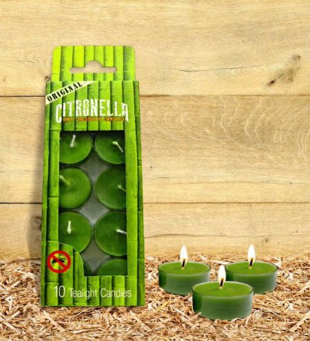 Citronella - Anti Mosquito Tealight Candles