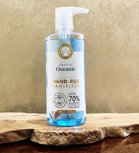 Oceanic Instant Hand Sanitizer Alcohol Based, 500 ml