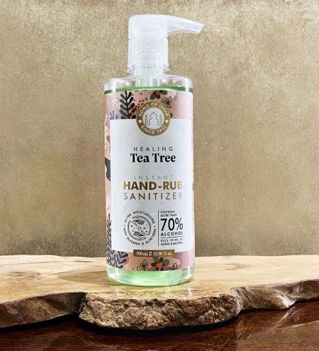 Tea Tree Hand Sanitizer Alcohol Based, 500 ml