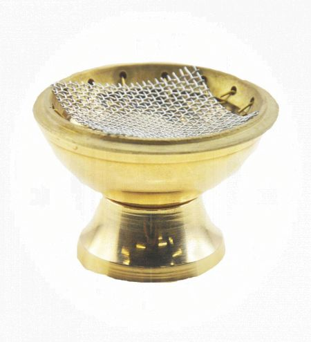 Brass Charcoal Burner 2.5