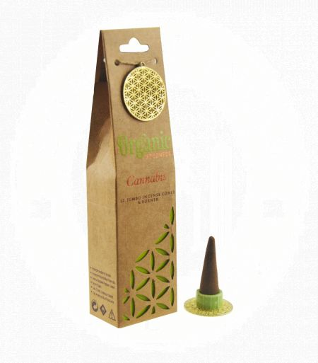 Cannabis Organic Incense Cones