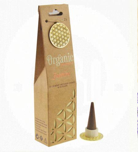 Jasmine Organic Incense Cones