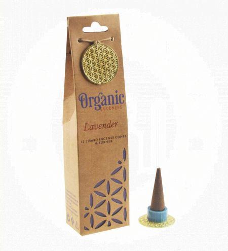 Lavender Organic Incense Cones