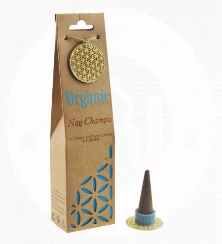 Nag Champa Organic Incense Cones