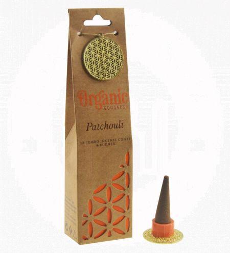 Patchouli Organic Incense Cones