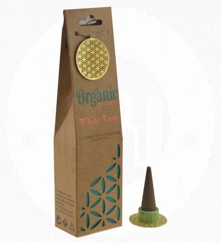 White Sage Organic Incense Cones
