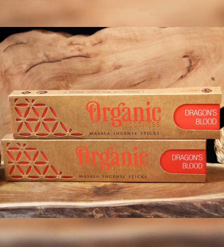 Dragon's Blood Organic Masala Incense Sticks Combo (Set of 2)