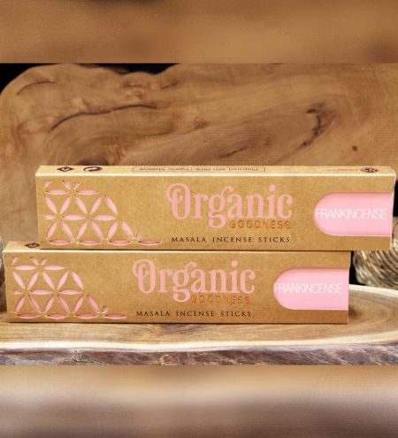 Frankincense Organic Masala Incense Sticks Combo (Set of 2)