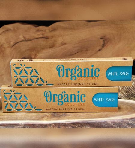 White Sage Organic Masala Incense Sticks Combo (Set of 2)